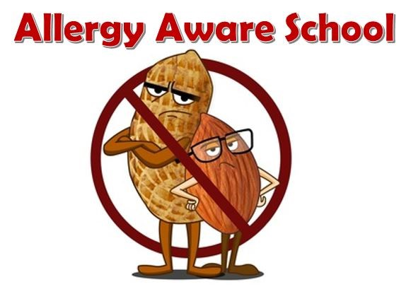 No Nuts Please! We are a 'nut aware' school.