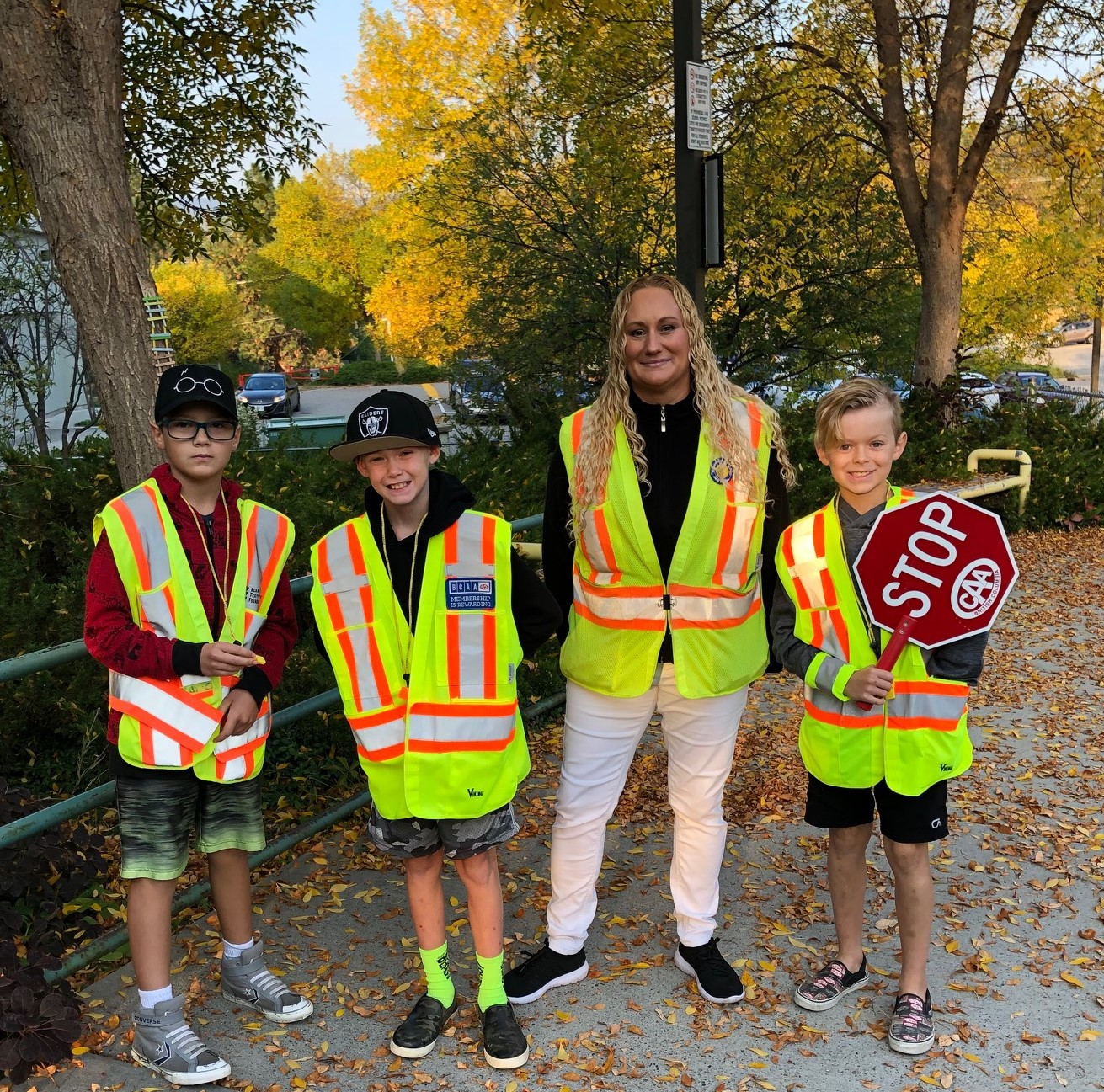 Grade 5 Crossing Guard Leaders!  Keeping our learners safe at CTE!